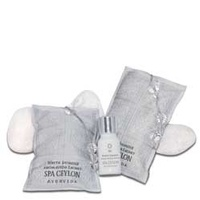 Spa ceylone - White Jasmine Aromaveda Sachet Room Fragrance Set 40g x 2 (+10ml bot)