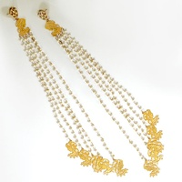 SImran Chhabra - Bride and Groom Long Fall Earrings