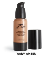 Zuii Organics - Liquid Foundation - Warm Amber
