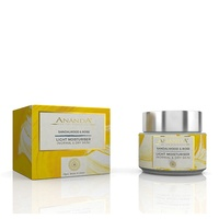 Ananda in the himalayas - Light Moisturiser - Sandalwood, Rose  for Normal & Dry Skin