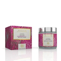 Ananda in the himalayas - Calming Body Scrub & Bath Salt - Wild Rose