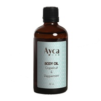 Ayca - Grapefruit & Peppermint Body Oil