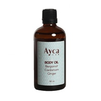 Ayca - Bergamot, Cardamom & Ginger Body Oil
