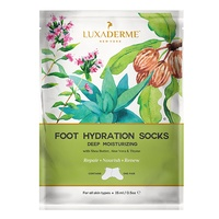 LuxaDerme - LuxaDerme Deep Moistrusing Treatment- Foot Hydration Socks