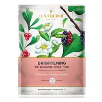 LuxaDerme - Brightening Bio Cellulose Face Sheet Mask