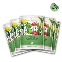 LuxaDerme - Firming Bio Cellulose Face Sheet Mask (pack of 5)