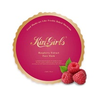 KinGirls Macarons - Raspberry Extract Invisible Face Mask
