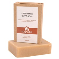 Suganda - Fresh Milk Olive Soap