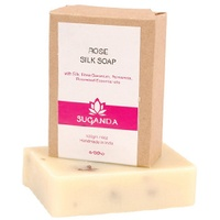 Suganda - Rose Silk Soap
