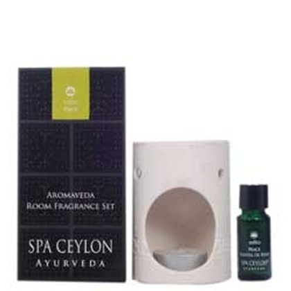 Spa ceylone - Aromaveda Room Fragrance Set   Peace (White)