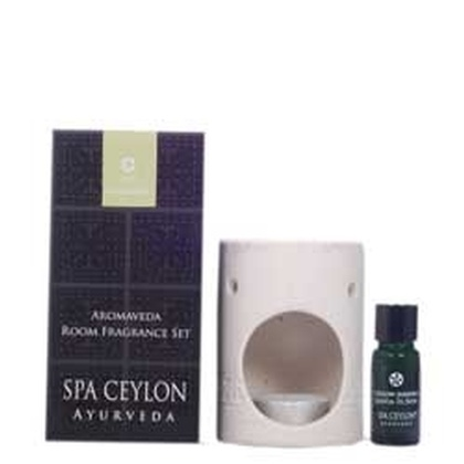 Spa ceylone - Aromaveda Room Fragrance Set   Ceylon Jasmine (White)