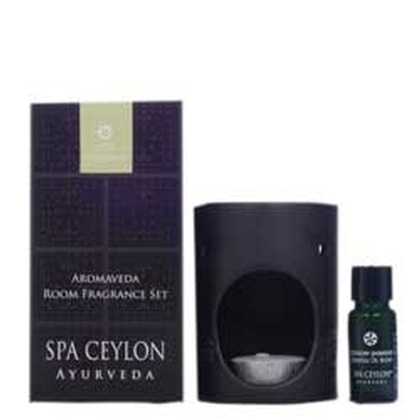 Spa ceylone - Aromaveda Room Fragrance Set   Ceylon Jasmine (Black)