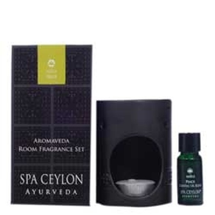 Spa ceylone - Aromaveda Room Fragrance Set   Peace (Black)