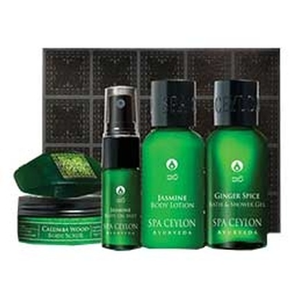Spa ceylone - Kapha-Bath & Body Care Discovery Set