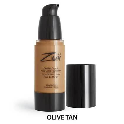 Zuii Organics - Liquid Foundation - Olive Tan
