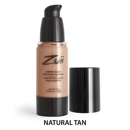 Zuii Organics - Liquid Foundation - Natural Tan