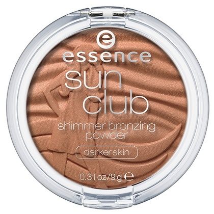 Essence - ess. Sun club shimmer bronzing. powder-dark.skin 20