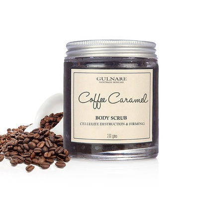 gulnare - Coffee Caramel Body Scrub