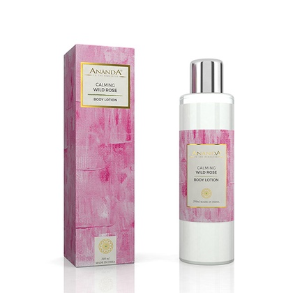 Ananda in the himalayas - Calming Body Lotion - Wild Rose