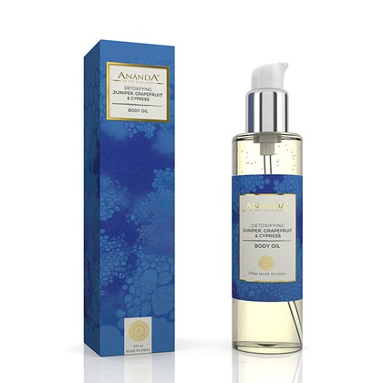 Ananda in the himalayas - Detoxifying Body Oil - Juniper, Grapefruit, Cypress