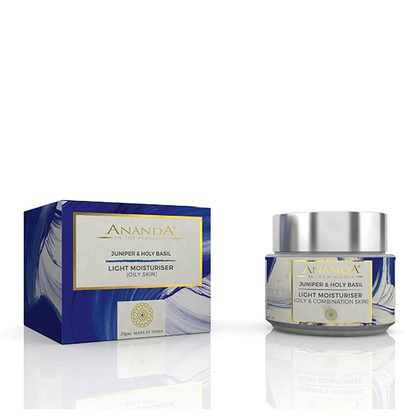 Ananda in the himalayas - Light Moisturiser - Juniper, Holy Basil for Oily & Combination Skin