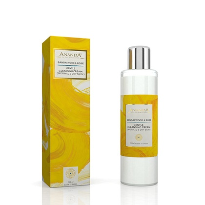 Ananda in the himalayas - Gentle Cleansing Cream -Sandalwood, Rose for Normal & Dry Skin