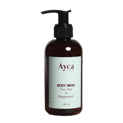 Ayca - Tea Tree & Peppermint Body Wash