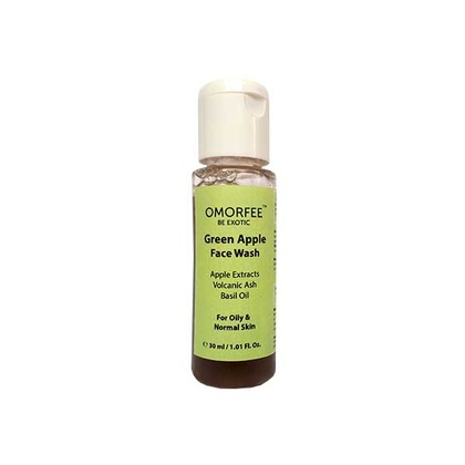 Omorfee - Green Apple Face Wash