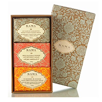 Kama Ayurveda - Three traditional treatment soap