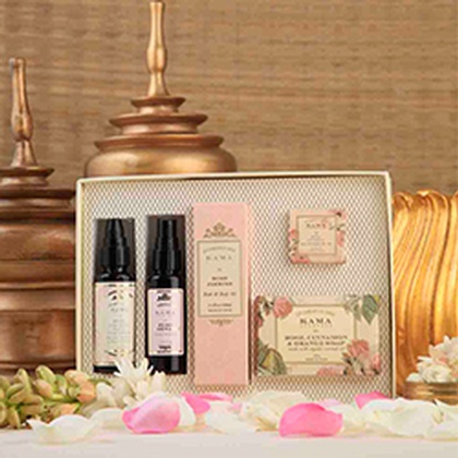 Kama Ayurveda - Rose Essential Box