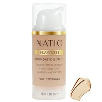 Natio - Flawless Foundation SPF 15 Medium