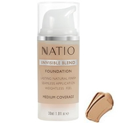 Natio - Invisible Blend Foundation Tan