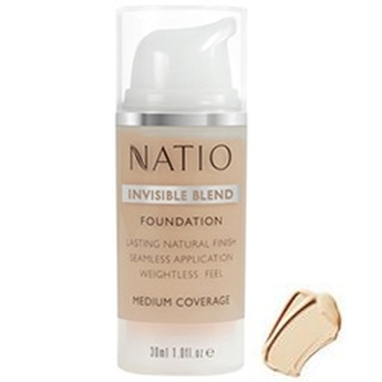 Natio - Invisible Blend Foundation Medium