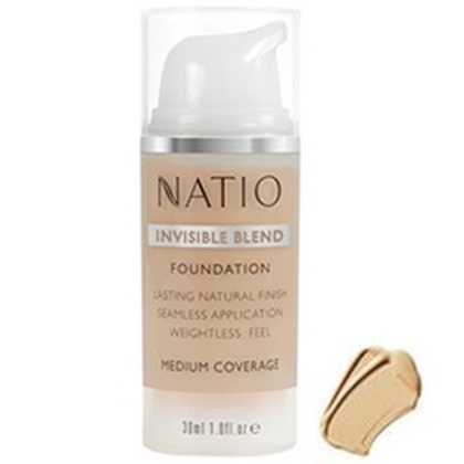 Natio - Invisible Blend Foundation Light Medium