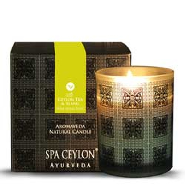 Ceylon Tea and Ylang Home Aroma Blend Natural Candle