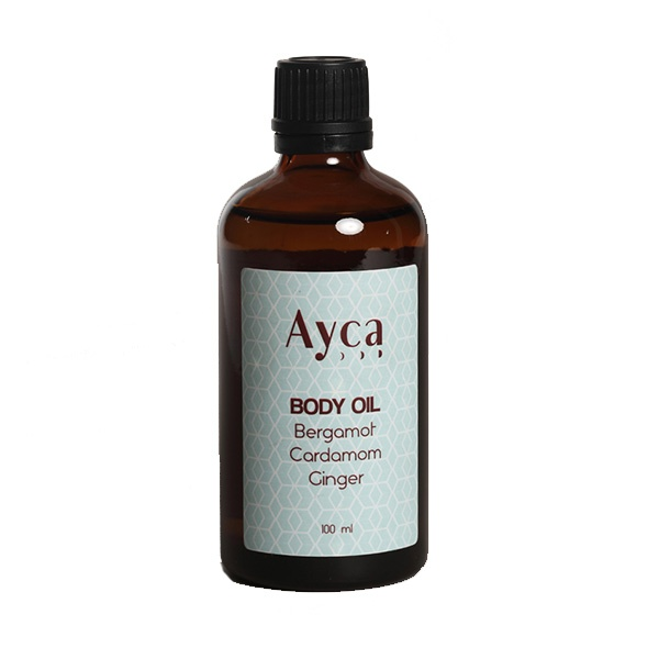 _0025_AYCA Bergamot & Cardoman & Ginger Body Oil