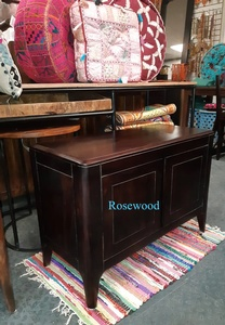 MORNINGSTAR - Cabinet/Tv Stand-2 Doors-Rosewood-33w by 16d x 23.5h