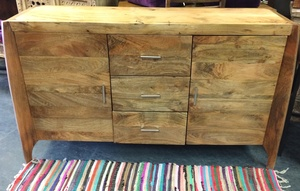 MORNINGSTAR - Sideboard-3 Drawers-58w by 17d by 35h