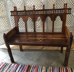 MORNINGSTAR - Bench-Tonga Style-4ftw x 22d x 41h-Ref#641 Natural