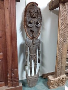 MORNINGSTAR - Statue-From Papa New Guinea-78 in tall x 17 in wide
