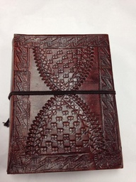 "Leather Notebook 5""x6"""