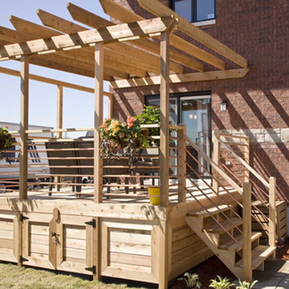 Do It Yourself Home Design: BUILD A DECK FOUNDATION