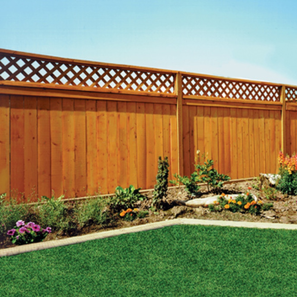 Bfd Rona Products Diy Fencing Planning And Installation